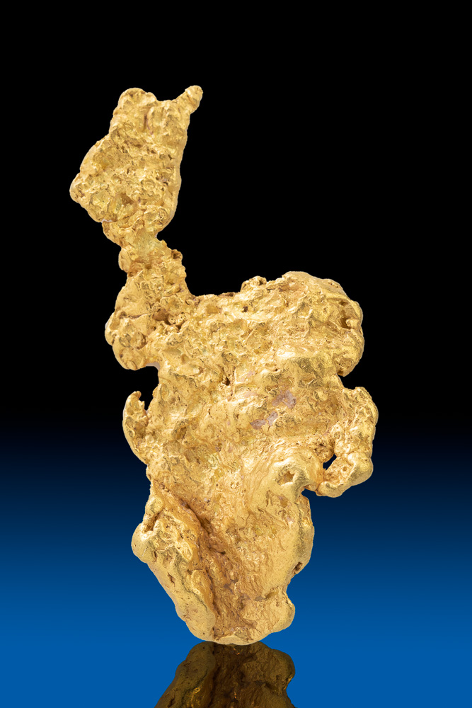 Unusual Shape - Natural Large Gold Nugget from Park County, CO