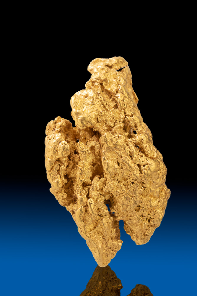 Chunky and Unique Shaped Natural Colorado Gold Nugget