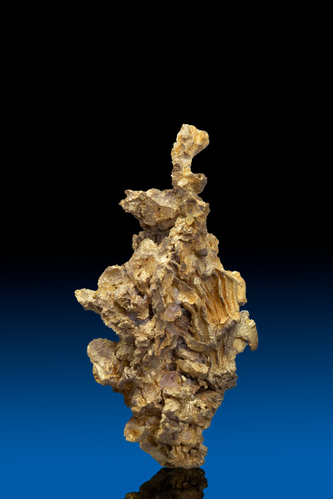 "Intricate ""Pinecone"" Formation - Gold Crystal, Diltz Gold Mine"