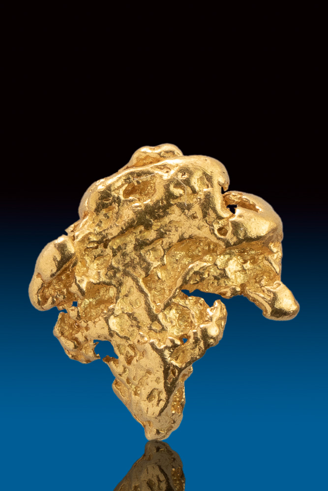 Beautifully Textured Gold Nugget form Alakska