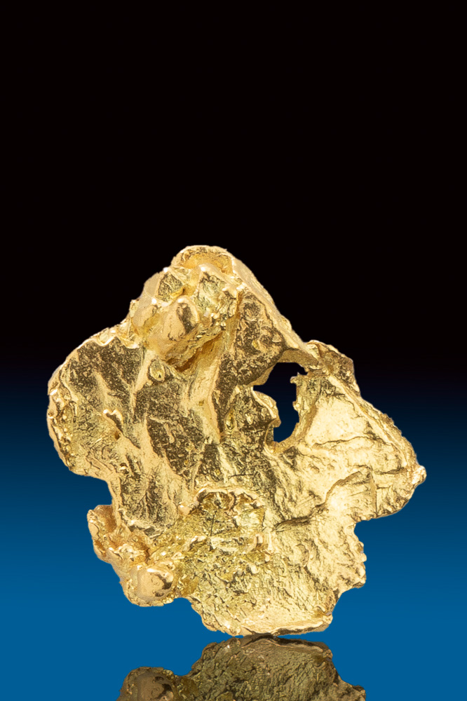 "Beautiful Gold Alaskan ""Leaf"" Nugget"