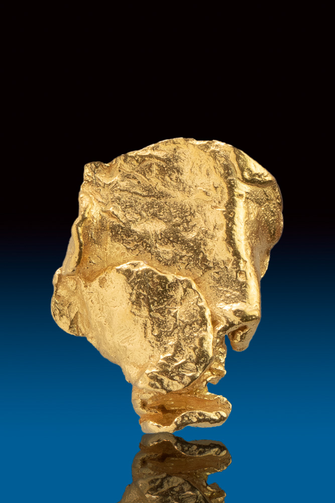 Shiny Gold Nugget from Alaska