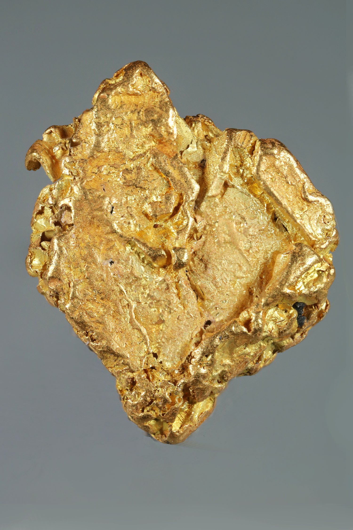 Yukon Gold Nugget with Crystalized Gold