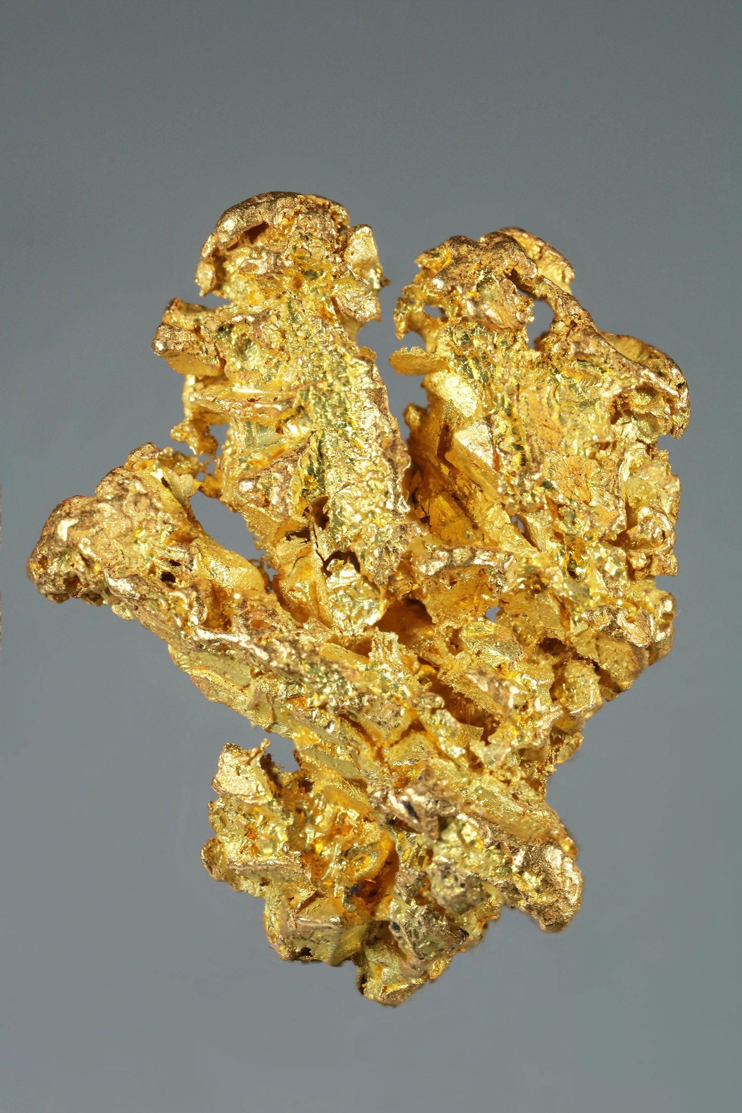 Richly Textured Yukon Gold Crystal Nugget