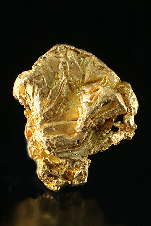 Well Defined Gold Crystal Specimen from the Yukon