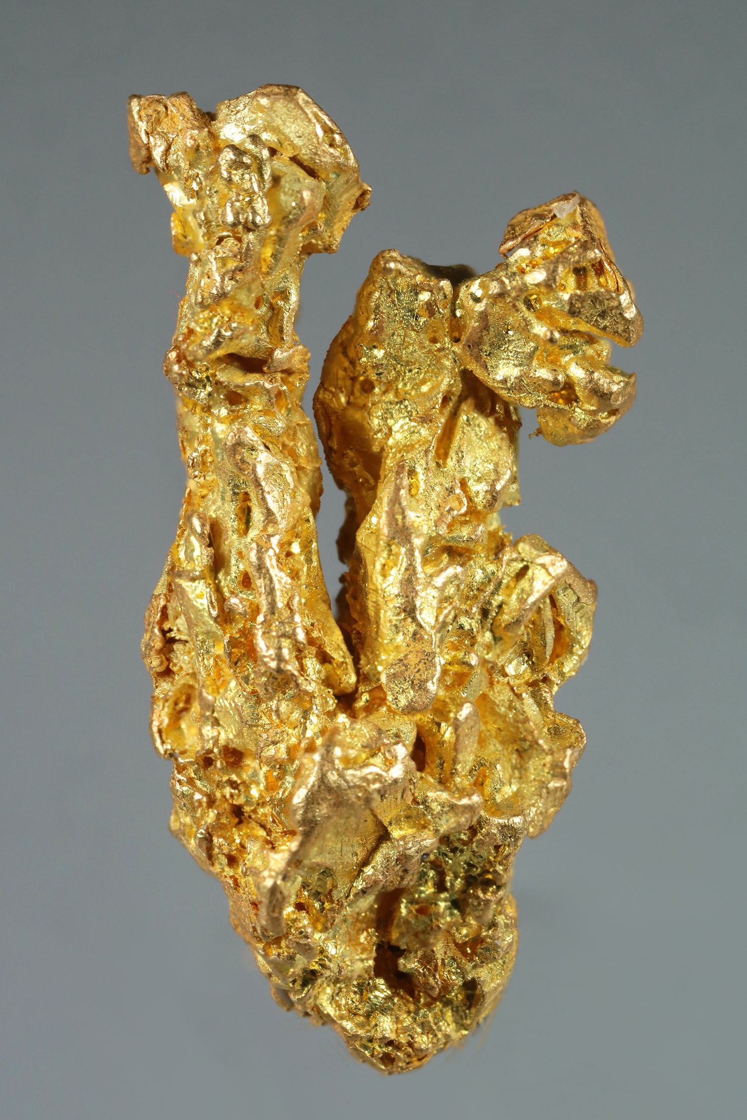 Rare Spinel Twin Yukon Gold Crystal