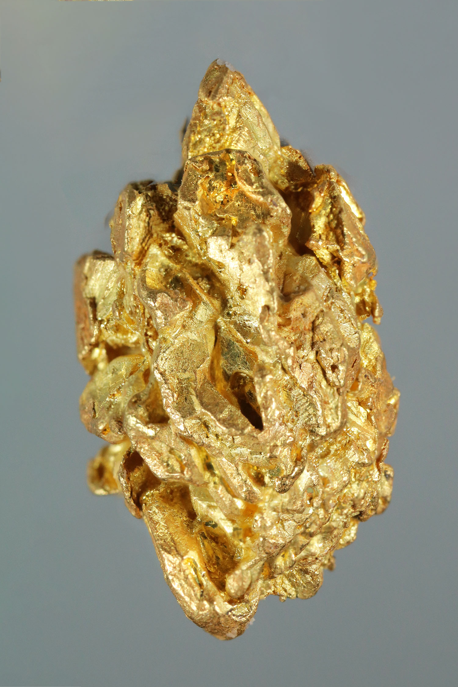 Sharp and Faceted Yukon Gold Crystal Nugget