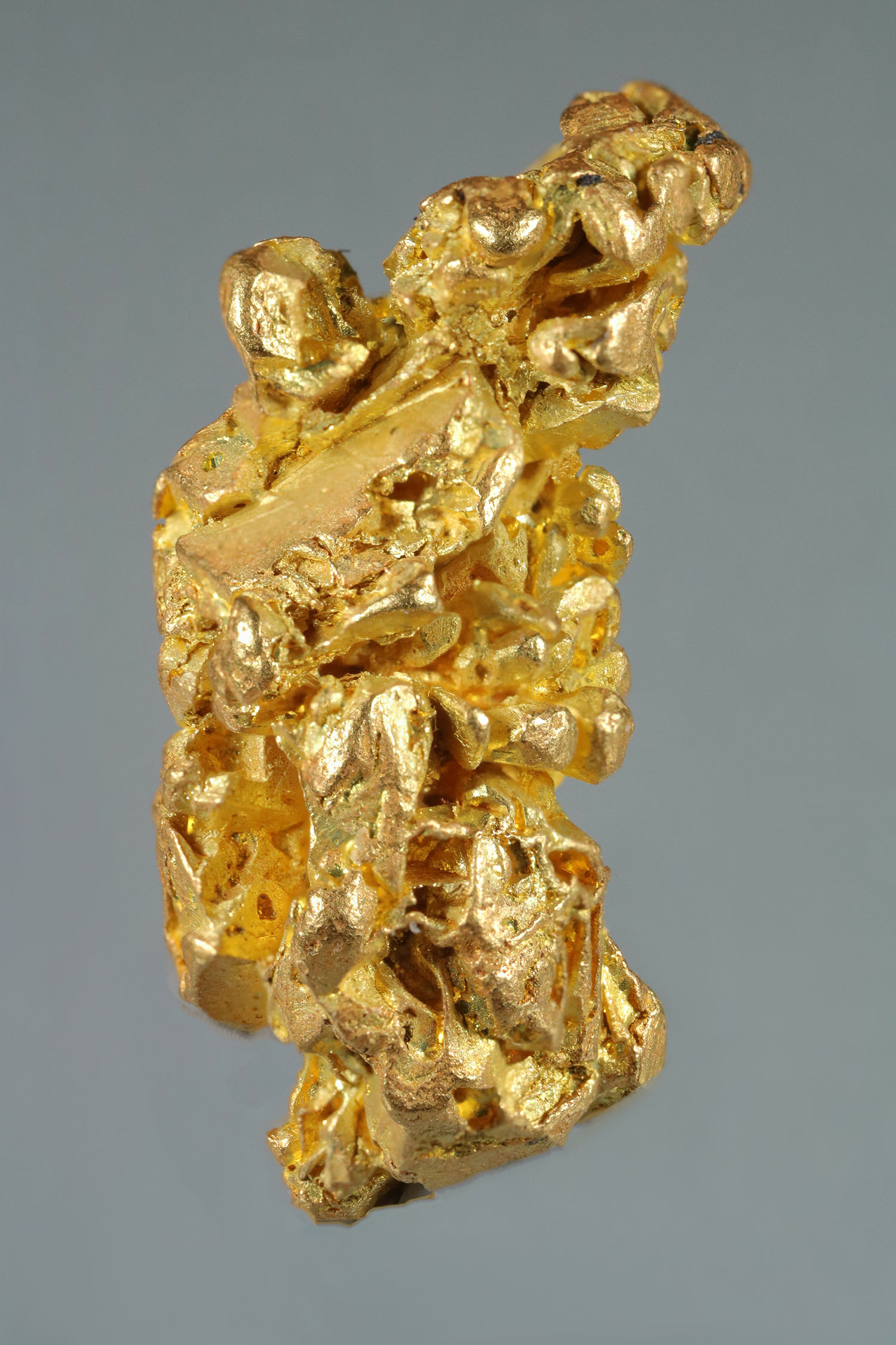 Elongated and Faceted - Yukon Gold Crystal
