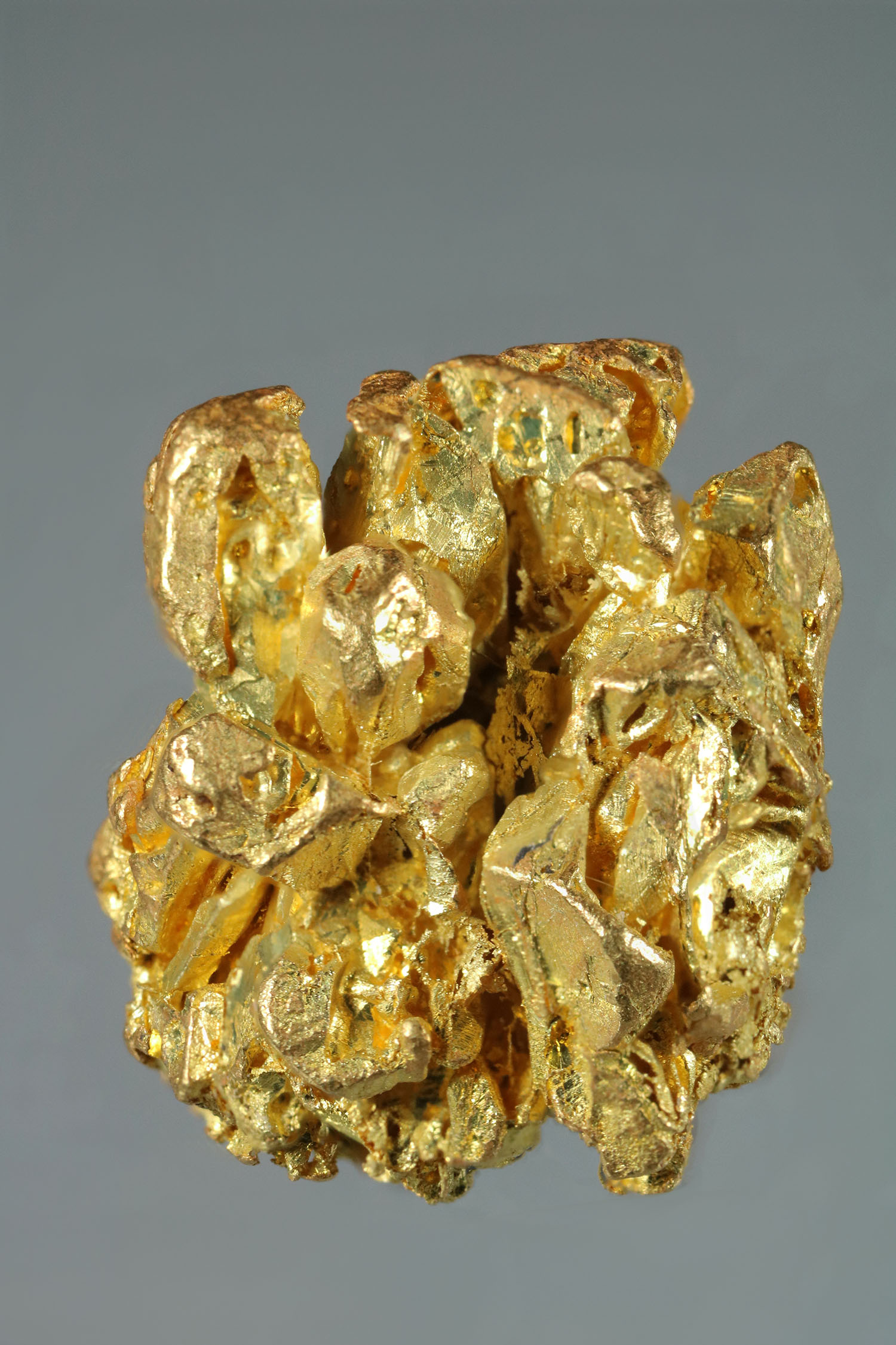 Gold Crystal Cluster Specimen from the Yukon Territory