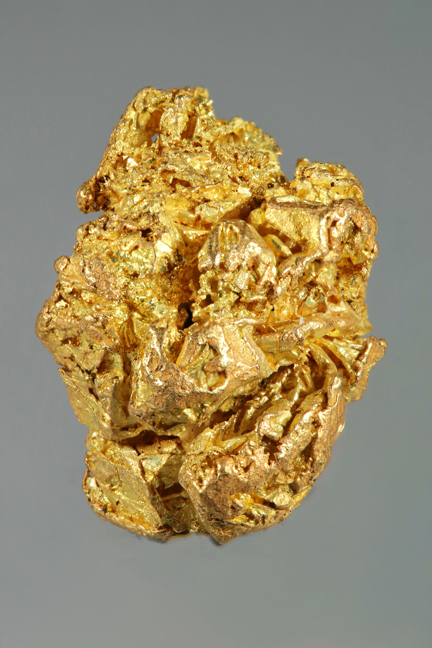 Thick Gold Crystal Specimen from the Yukon