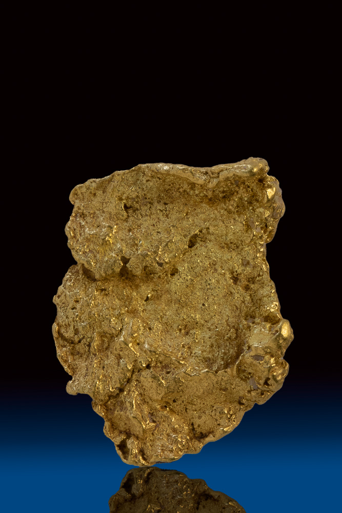 Beautiful Textured Natural Gold Nugget - Yukon Territory, Canada