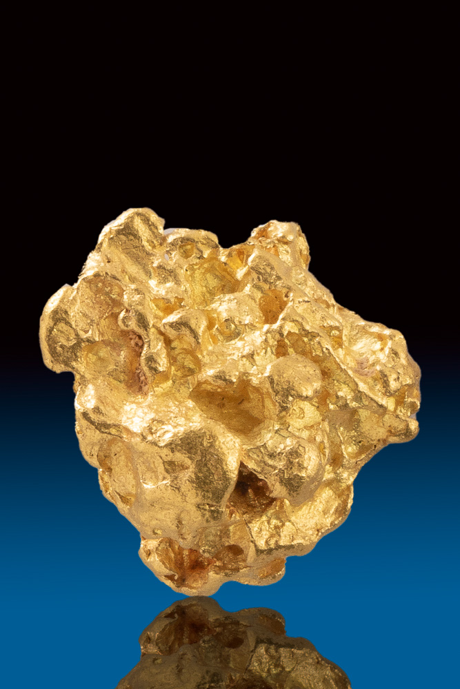 Perfectly Shaped Jewelry Grade Australian Gold Nugget