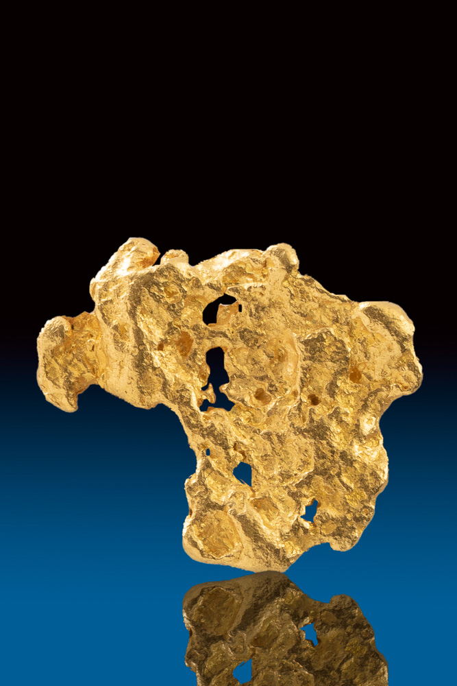 """Turkey"" Shaped Australian Gold Nugget"