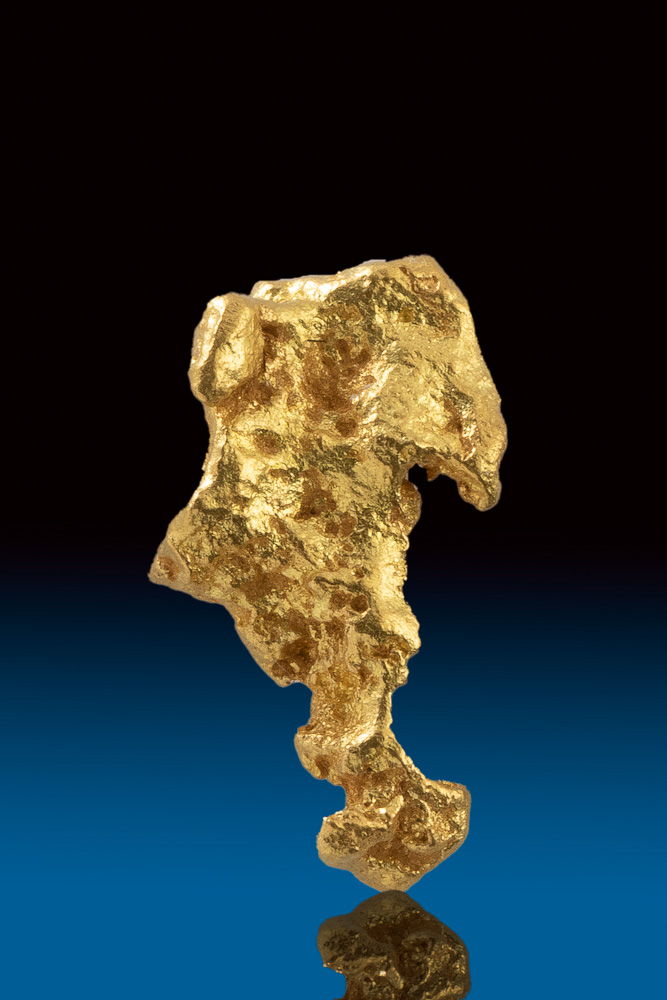 Unusual Shape - Jewelry Grade Gold Nugget From Australia