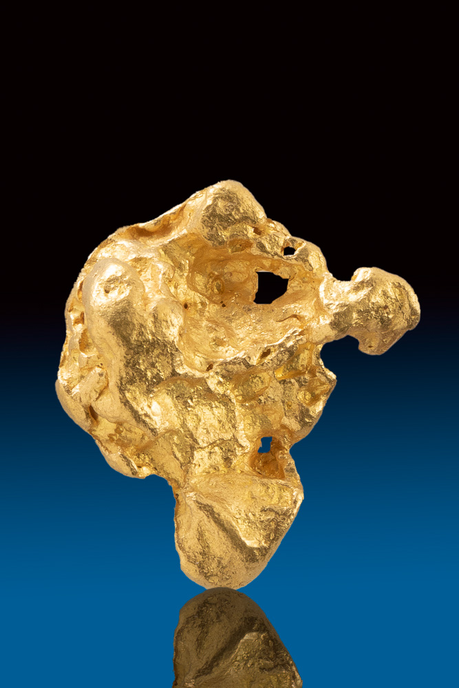 Textured and Uniform Shape - Gold Nugget From Australia