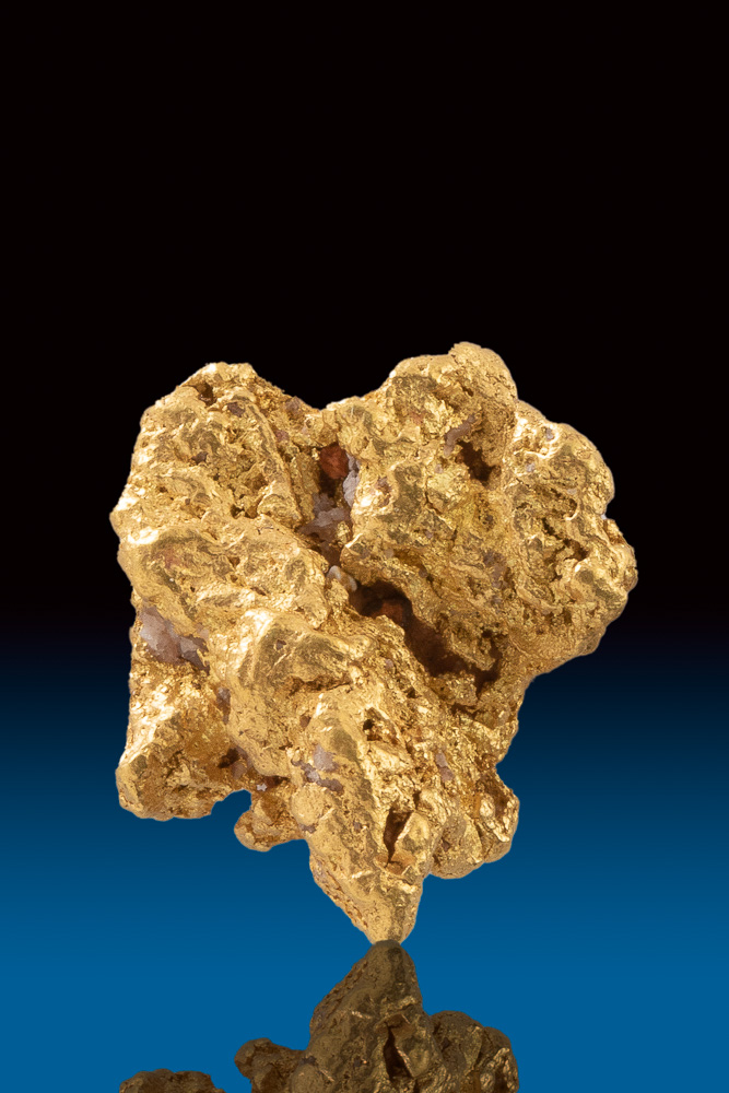 Native Australian - Jewelry Grade Gold Nugget