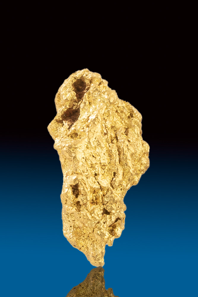 Tapered and Textured Jewelry Grade Australian Gold Nugget