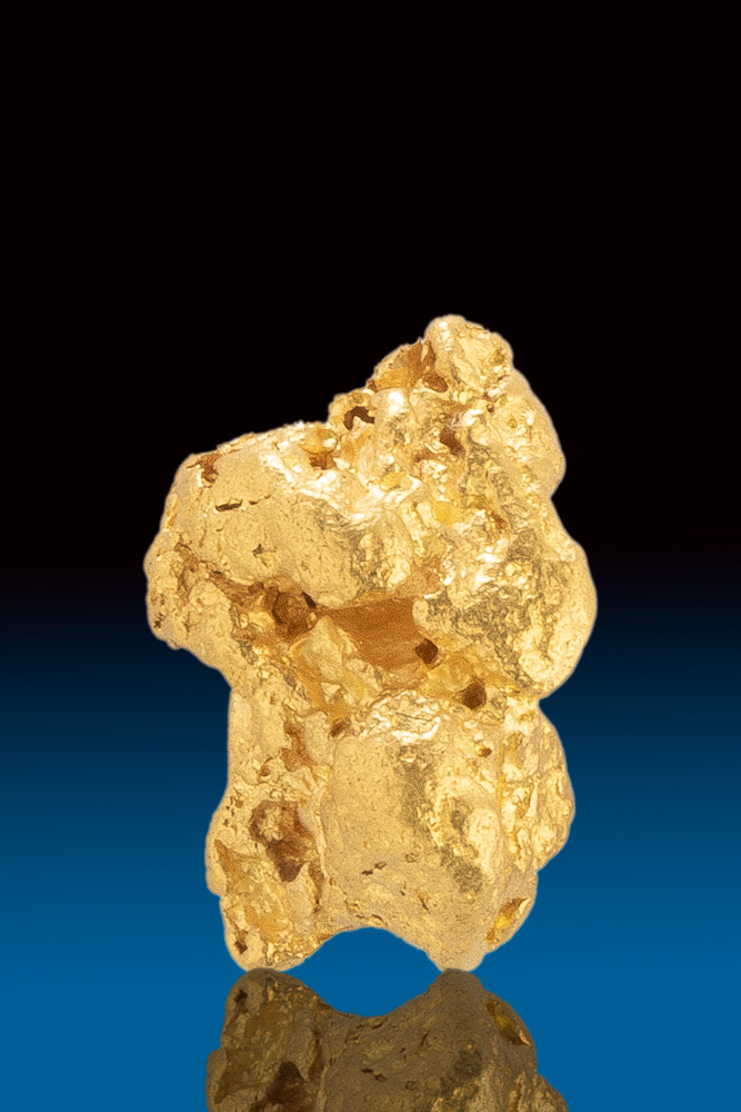 Plump and Rounded - Jewelry Grade Australian Gold Nugget