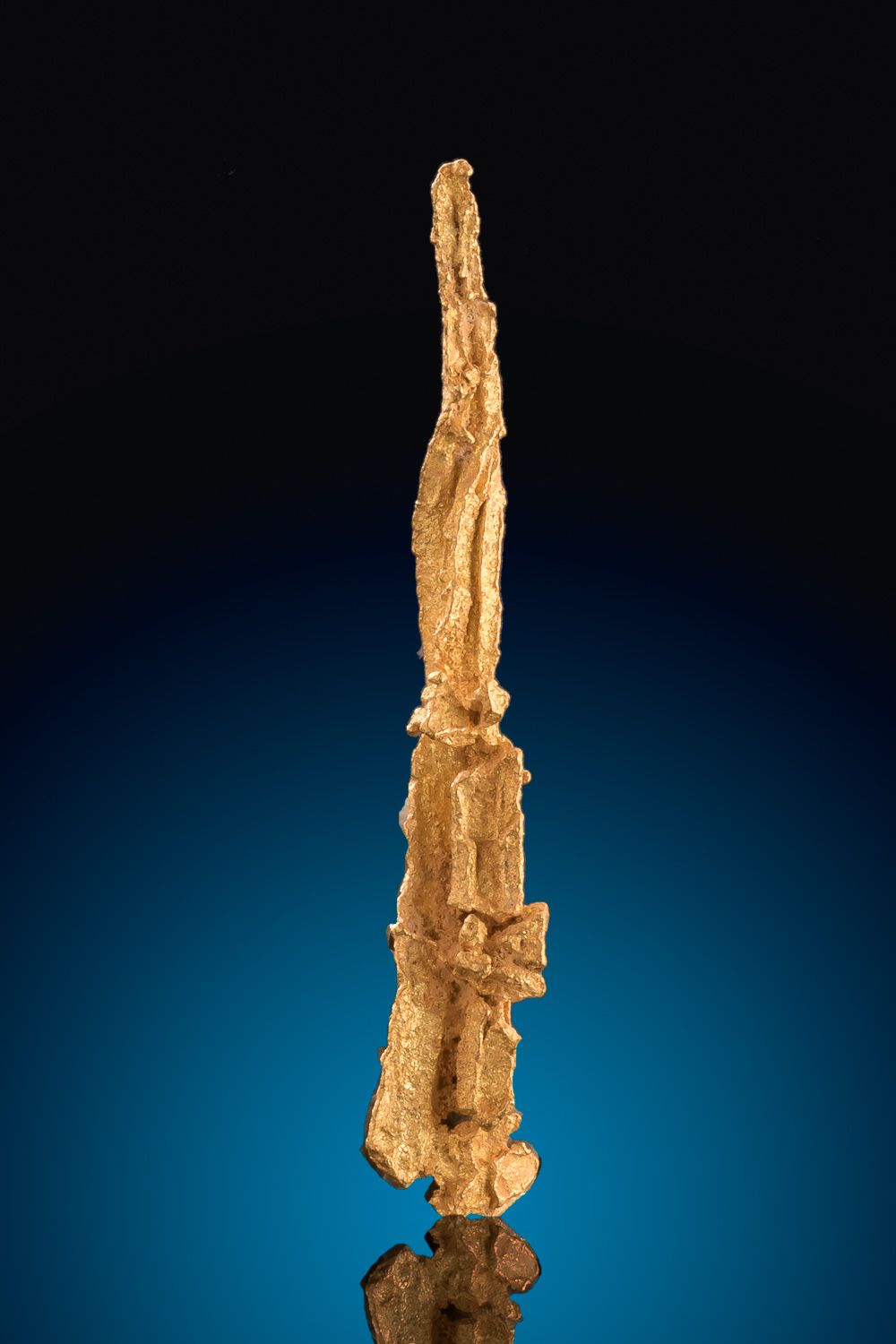 Long and Spear Shaped Gold Crystal - Georgetown, AUS