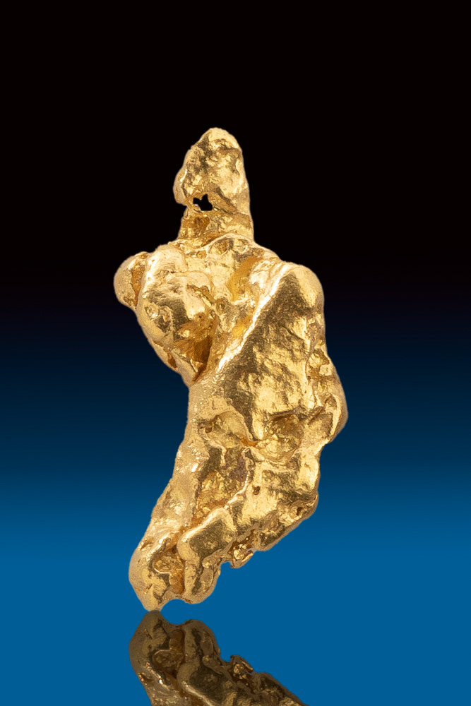 Brilliant Rare Natural Australian Gold Nugget