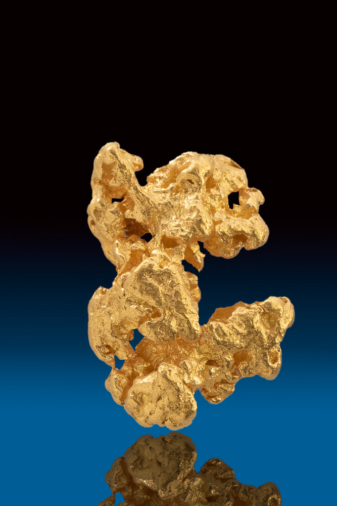Beautiful Intricate Natural Gold Nugget from Australia