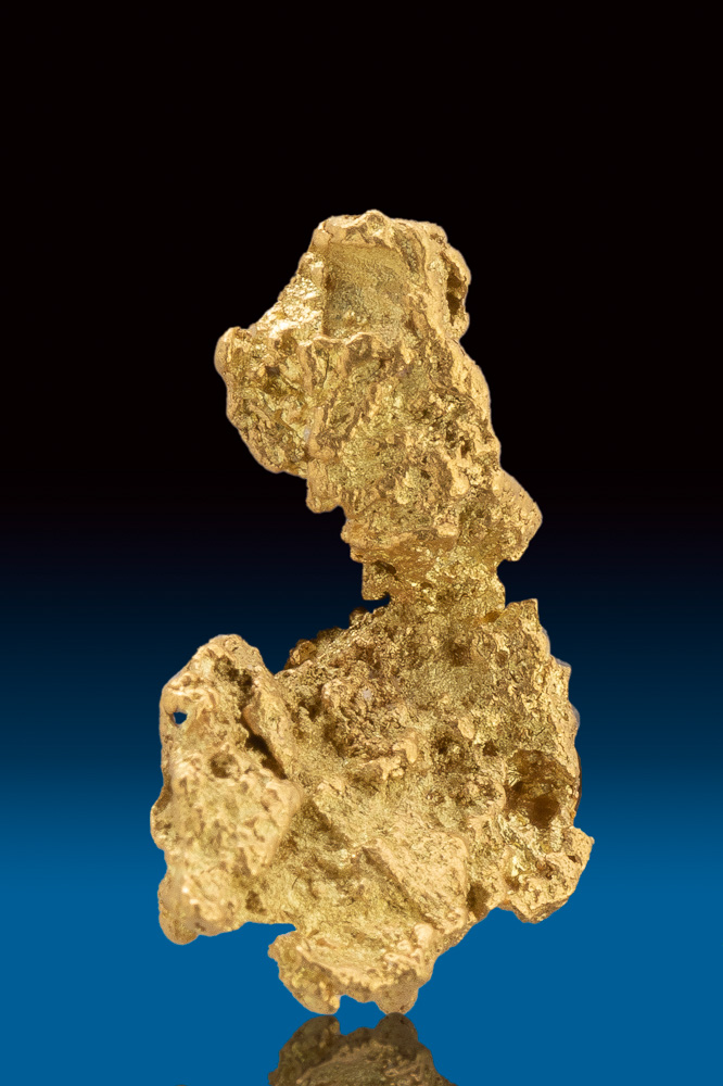 "Rare ""Crescent) Shaped Natural Gold Nugget from Australia"