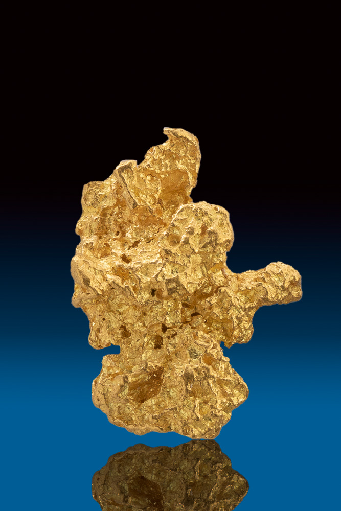 Rare Textured Natural Australian Gold Nugget
