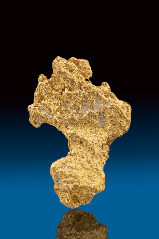 Brilliant Natural Gold Nugget from Australia