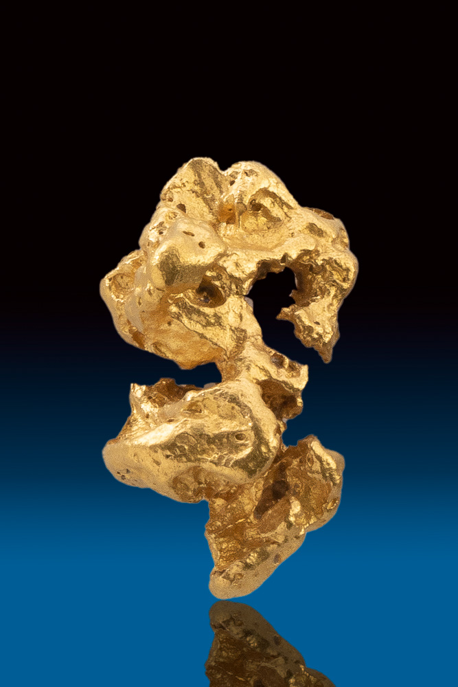 Beautiful Shiny Rare Natural Gold Nugget from Australia