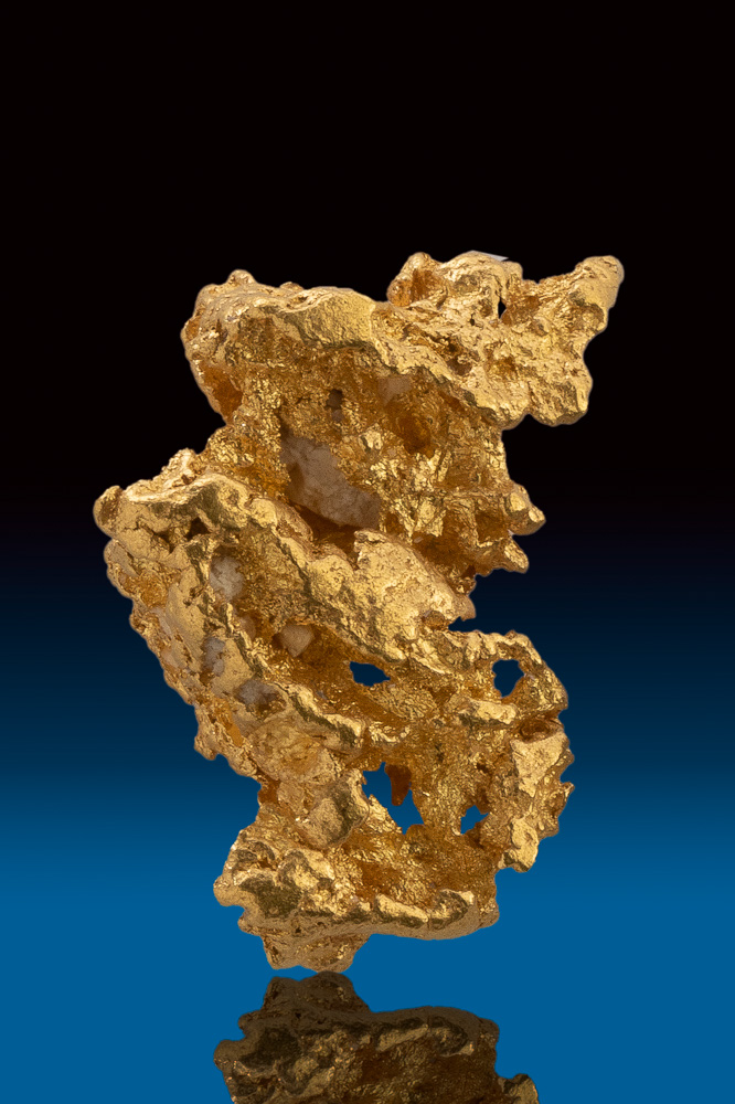 Beautiful Rare Lacy Textured Gold Nugget from Australia