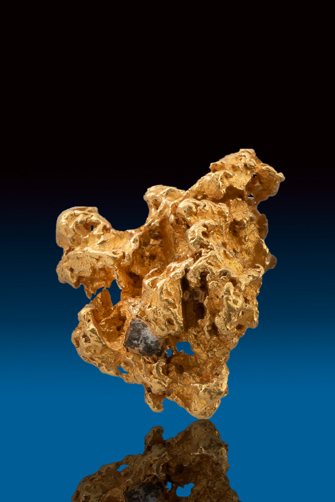 Beautiful Detailed Natural Australian Gold Nugget