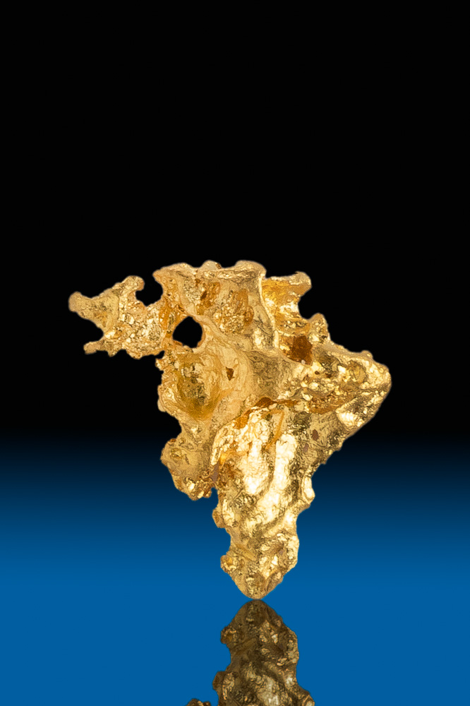 Magnificent Australian Natural Gold Nugget - Bendigo Gold Fields