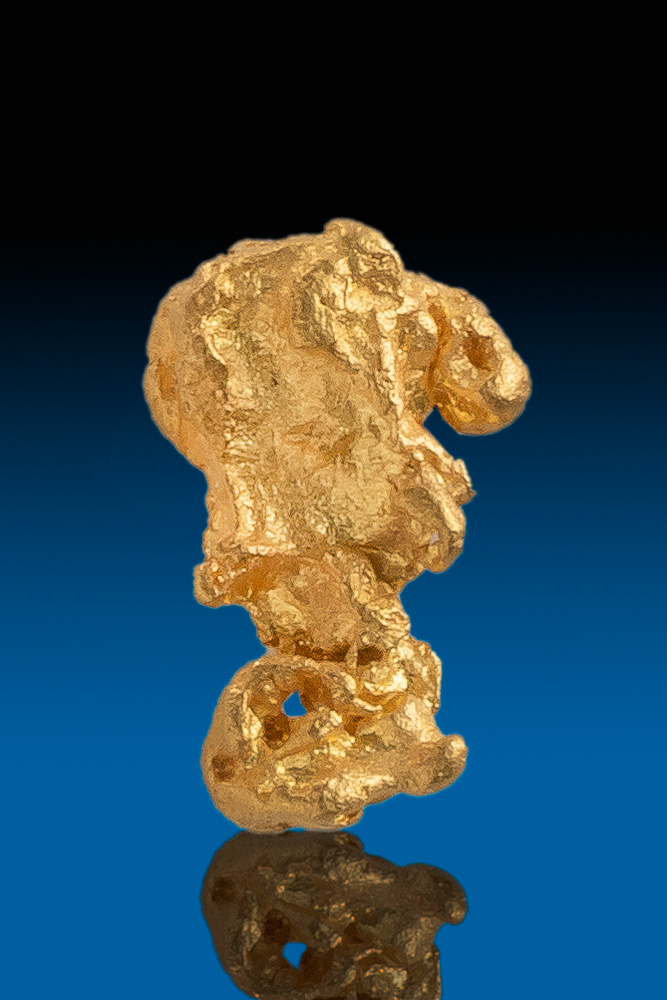 Beautiful Chunky Natural Gold Nugget - Victoria, Australia