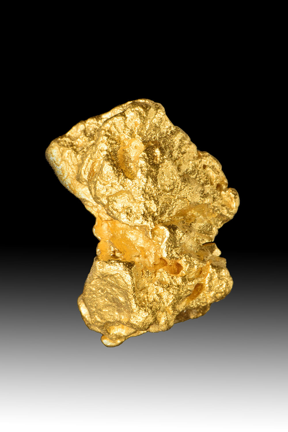 Plump, Textured Jewelry/Investment Grade Australian Gold Nugget