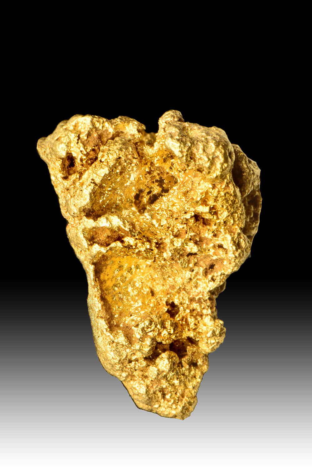 Native Australian - Triangular Shaped Gold Nugget