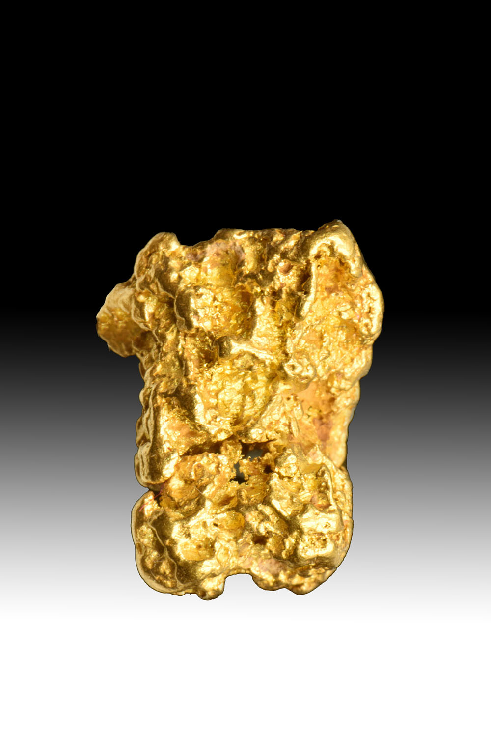 Shiny, High Purity Jewlery/Investment Grade Gold Nugget