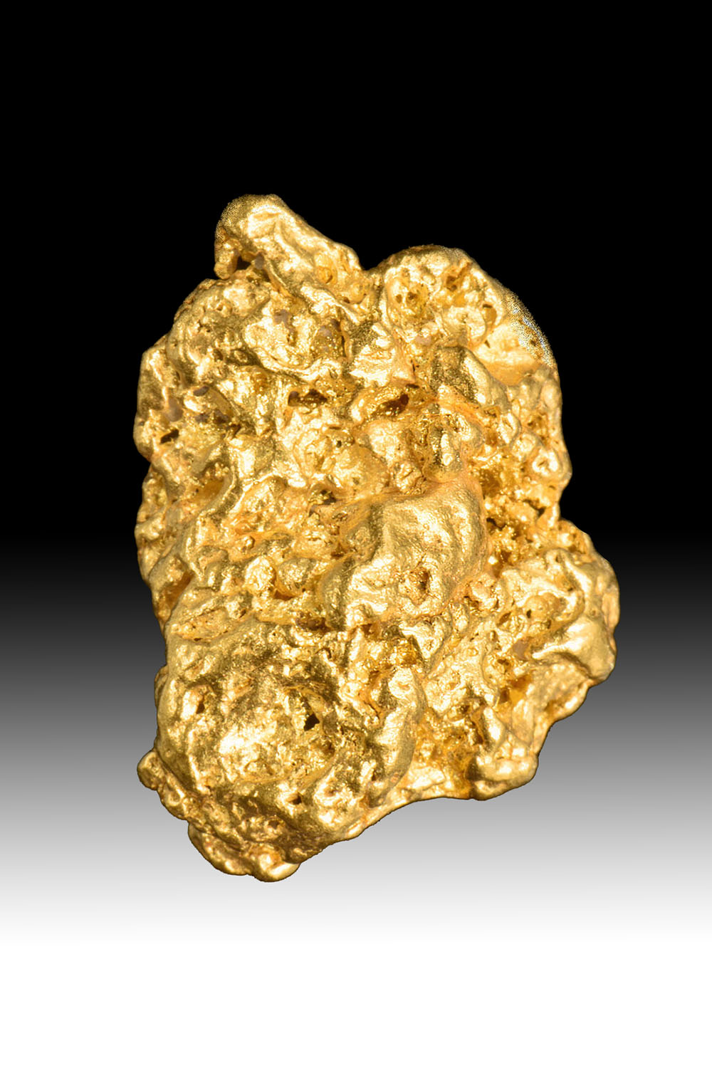 Heavily Textured - Australian Gold Nugget - Jewelry Grade