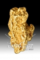 Oblong and Detailed - Jewelry Grade Australian Gold Nugget
