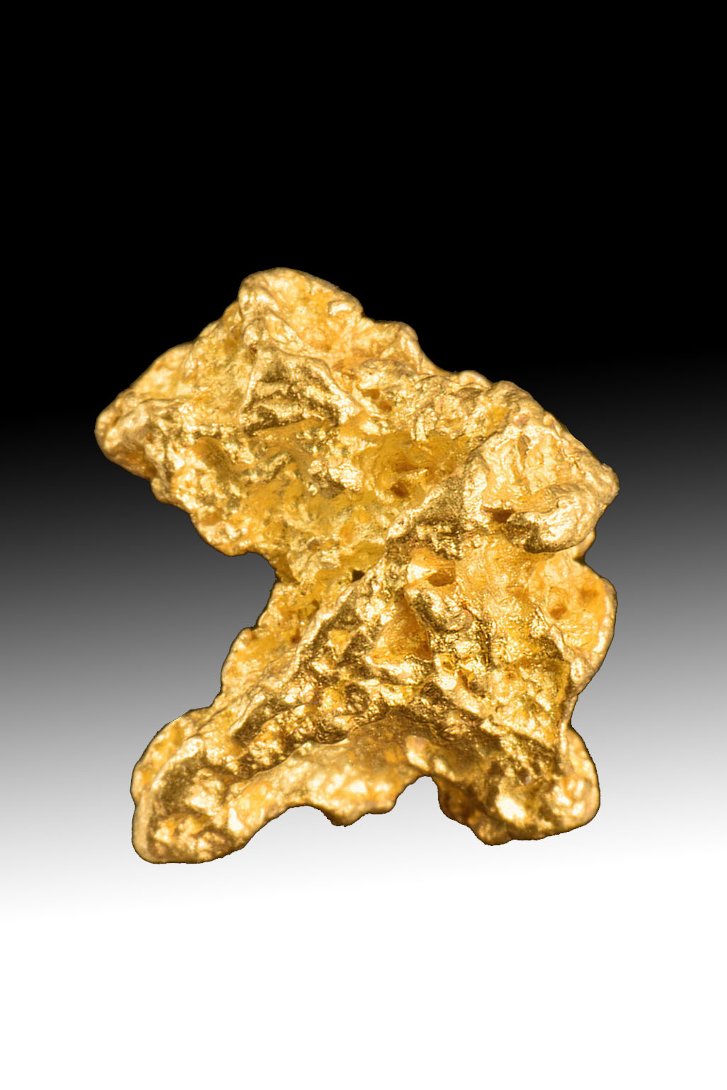 Defined and Unique Shape - Jewelry Grade Australian Gold nugget