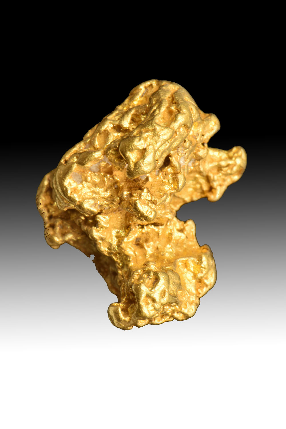 Plump and Detailed - Uniquely Shaped Gold Nugget from Australia