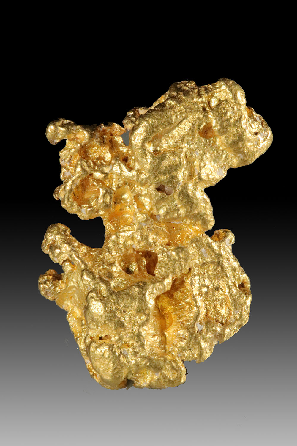 Stunning Clarity and Brilliant Natural Gold Nugget