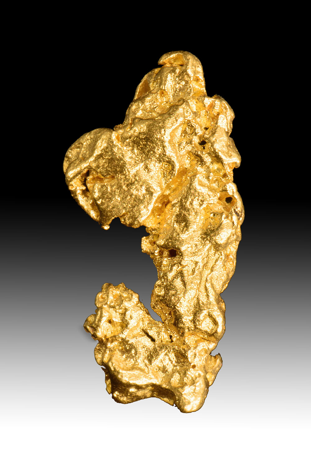 Interesting Shape Jewelry Grade Australian Gold Nugget