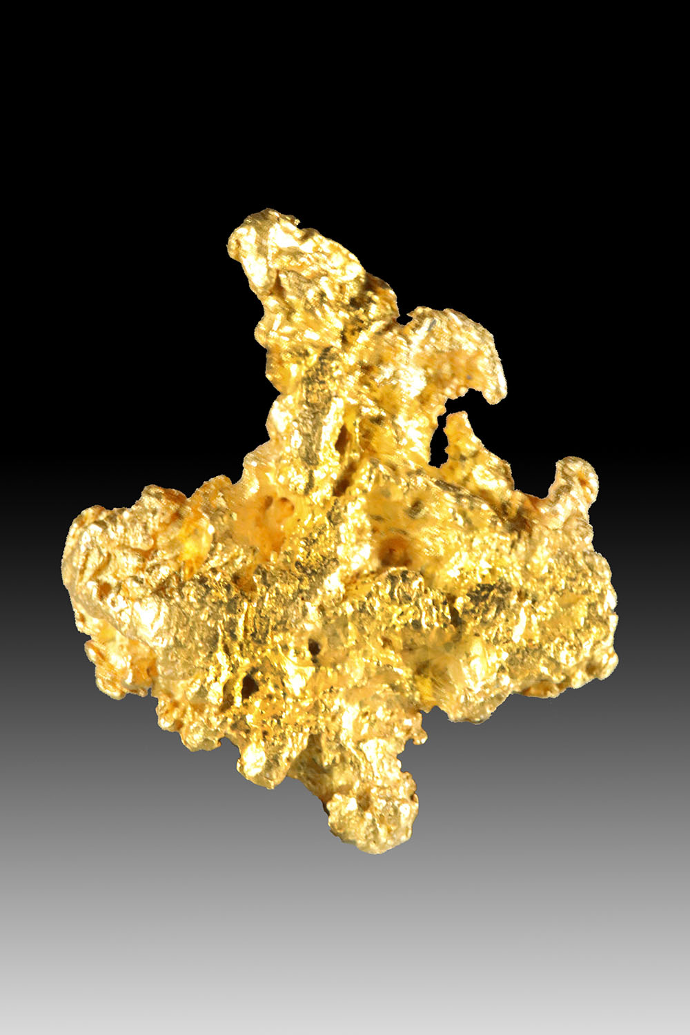 Wonderfully Rich and Textured Jewelry Grade Gold Nugget