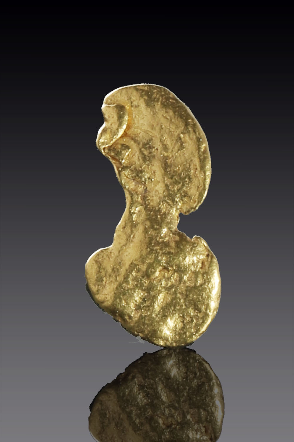 Hour Glass Shaped Natural Australain Gold Nugget