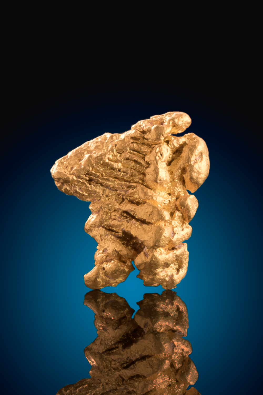 Beautiful Gold Crystal Nugget - Charters Towers, Australia