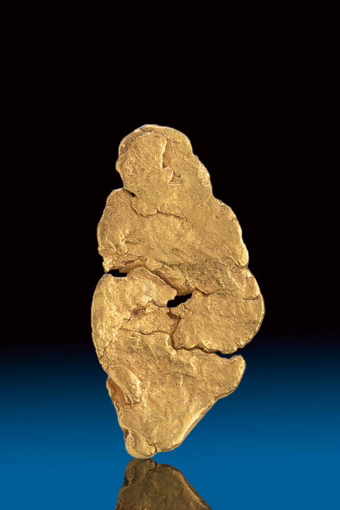 Spectacular Natural Gold Nugget from Atlin, BC