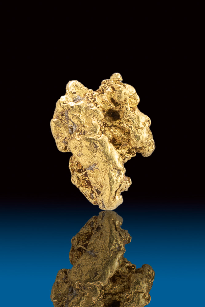 Uniquely Textured Natural Gold Nugget from the Bering Sea