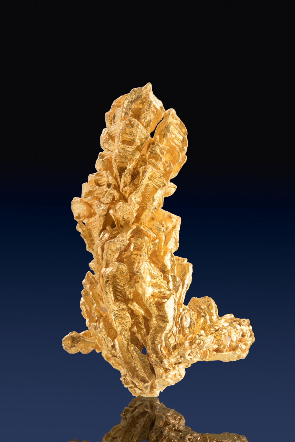 Exceptionally Pure - Natural Gold Crystal from Brazil