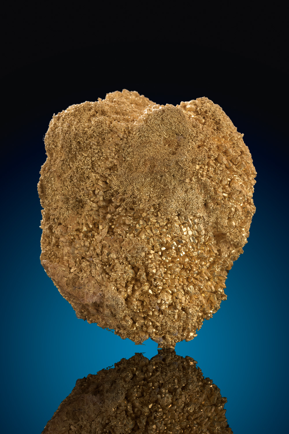Large Round Gold Crystal Nugget - Round Mountain - 43.5 grams