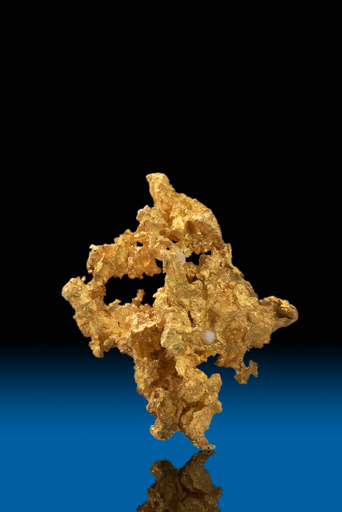 Crystalline Gold Nugget Specimen - Breckenridge, Colorado